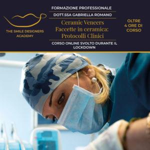 """Corso Online """"Faccette in ceramica: protocolli clinici"""""""